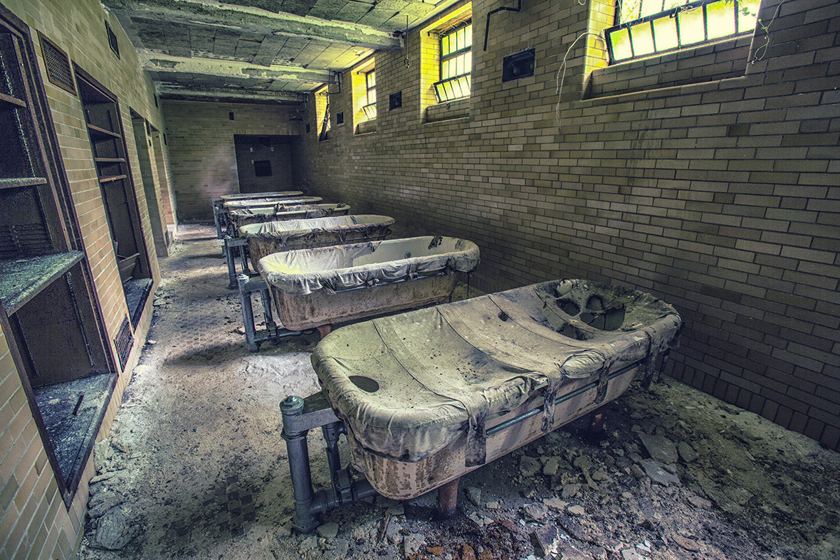 Abandoned Asylums By Matt Van Der Velde Eerie Photos Of Infamous Us Psychiatric Facilities