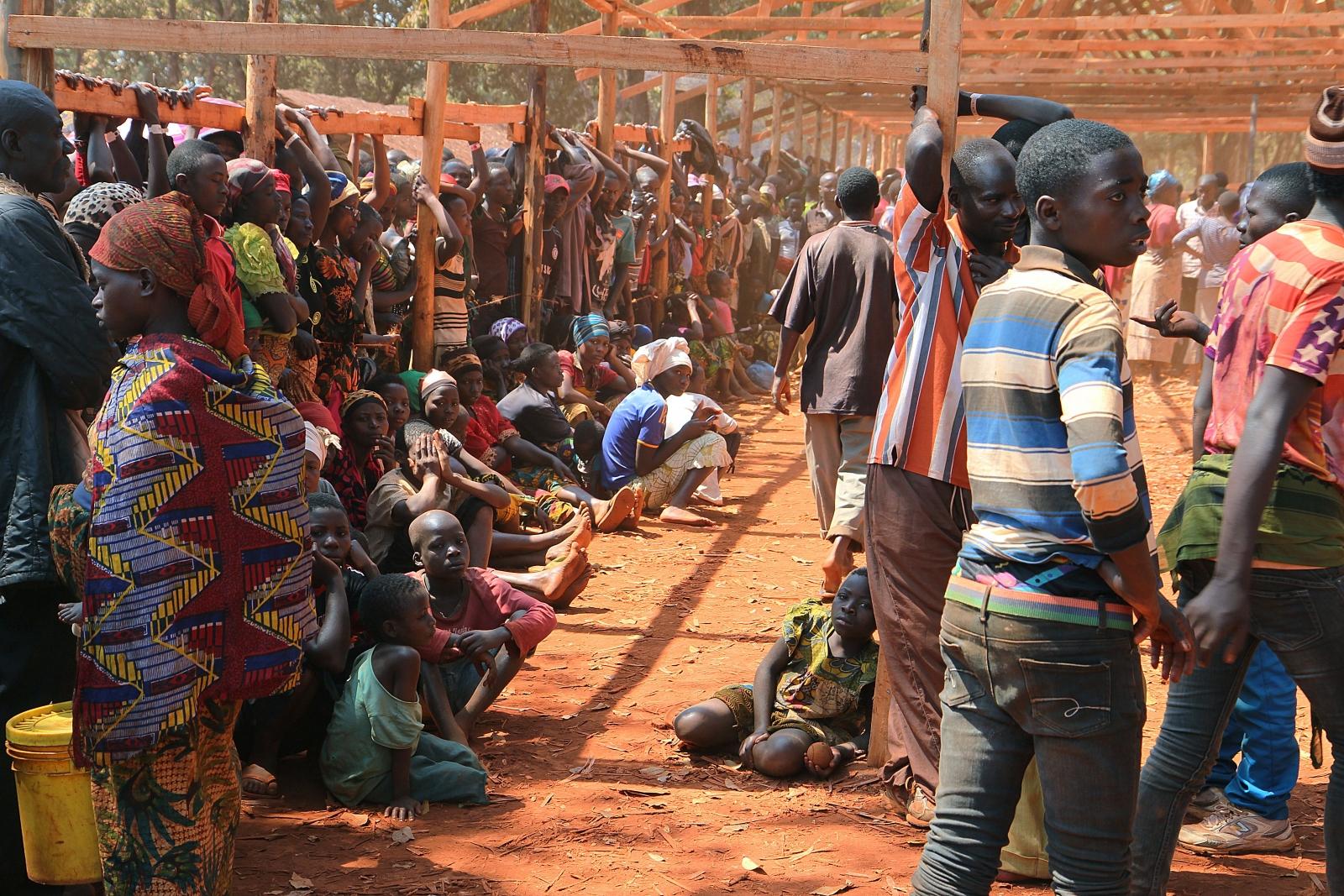 Burundi refugees in Tanzania