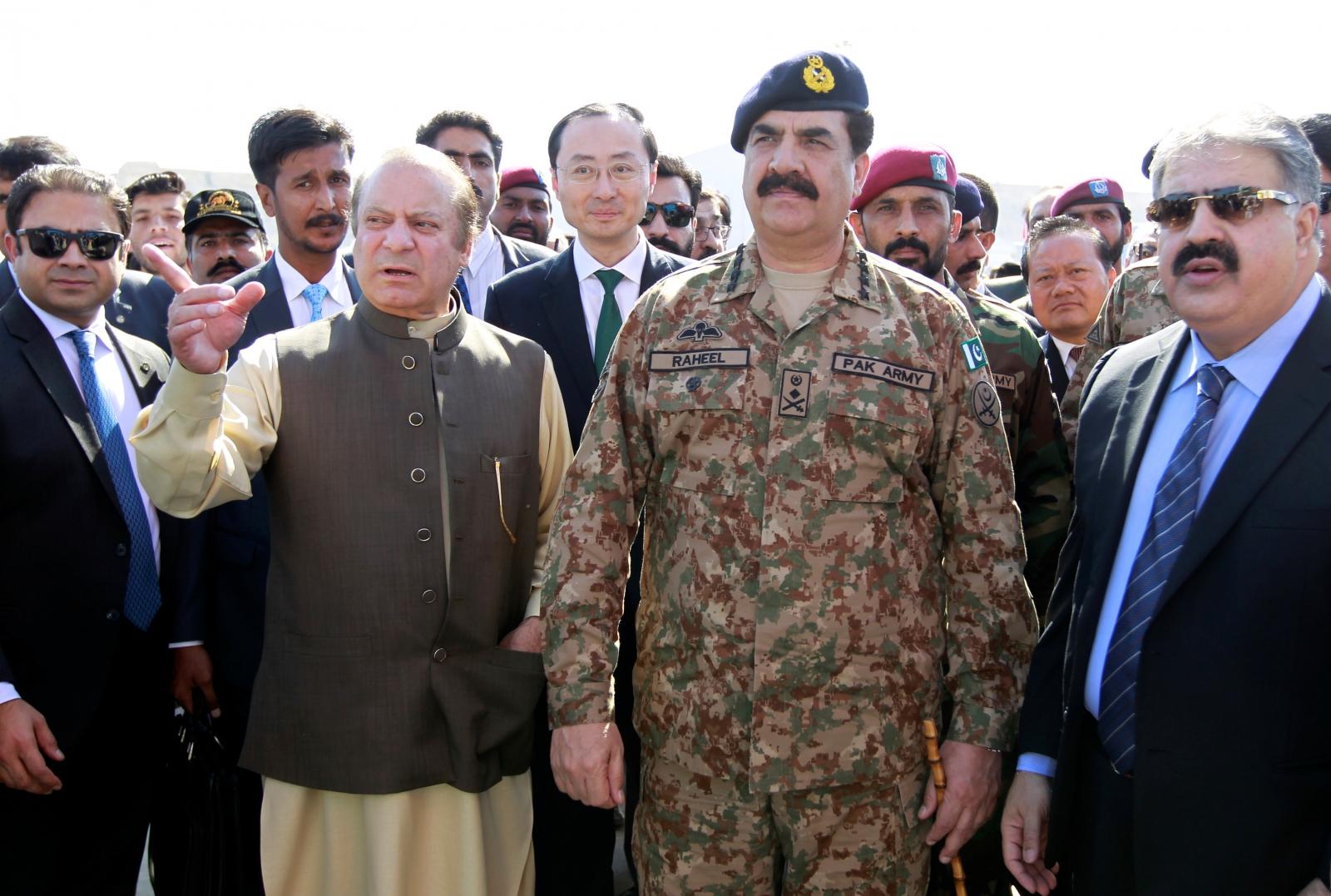 Pakistan military drills
