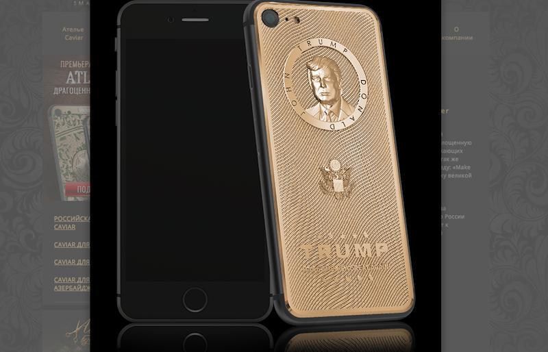 Donald Trump Limited Editio iphone case