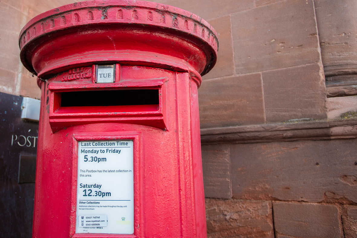 Royal Mail hit by sharp drop in letter posting over Christmas