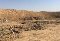 Mass grave outside Mosul