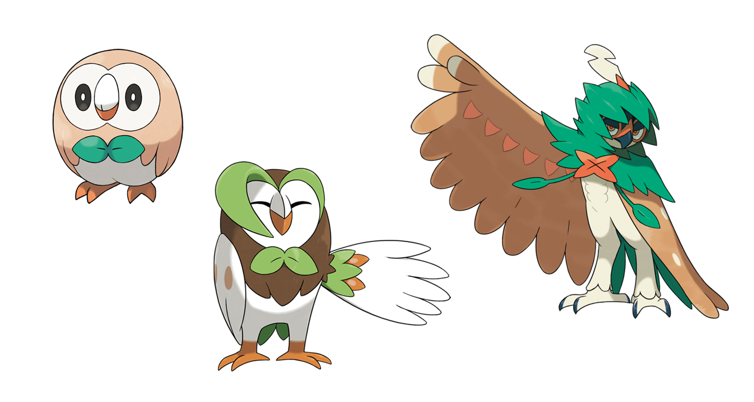 Decidueye Best Nature Pokemon
