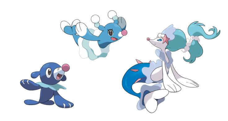 Pokemon Sun and Moon starter evolutions