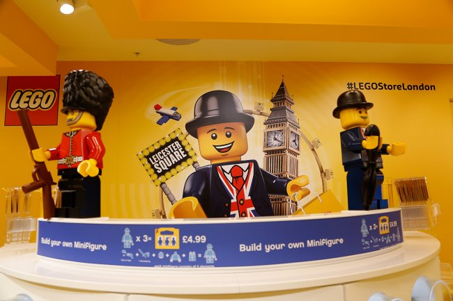 World's biggest Lego store has just opened in Leicester Square, London