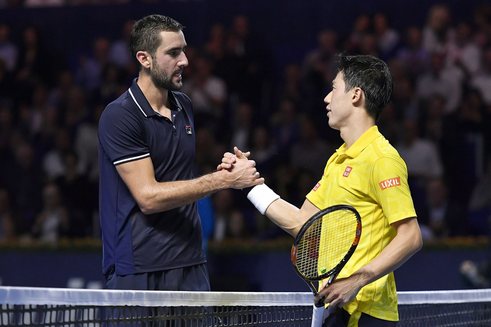 Marin Cilic and Kei Nishikori