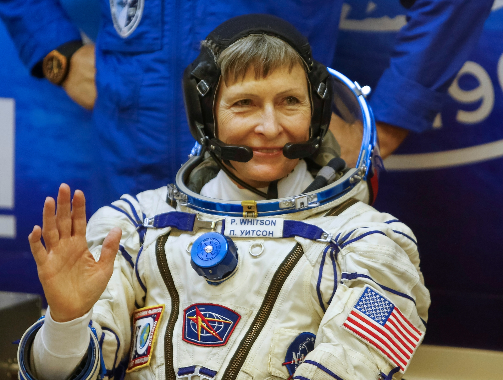 ISS Peggy Whitson