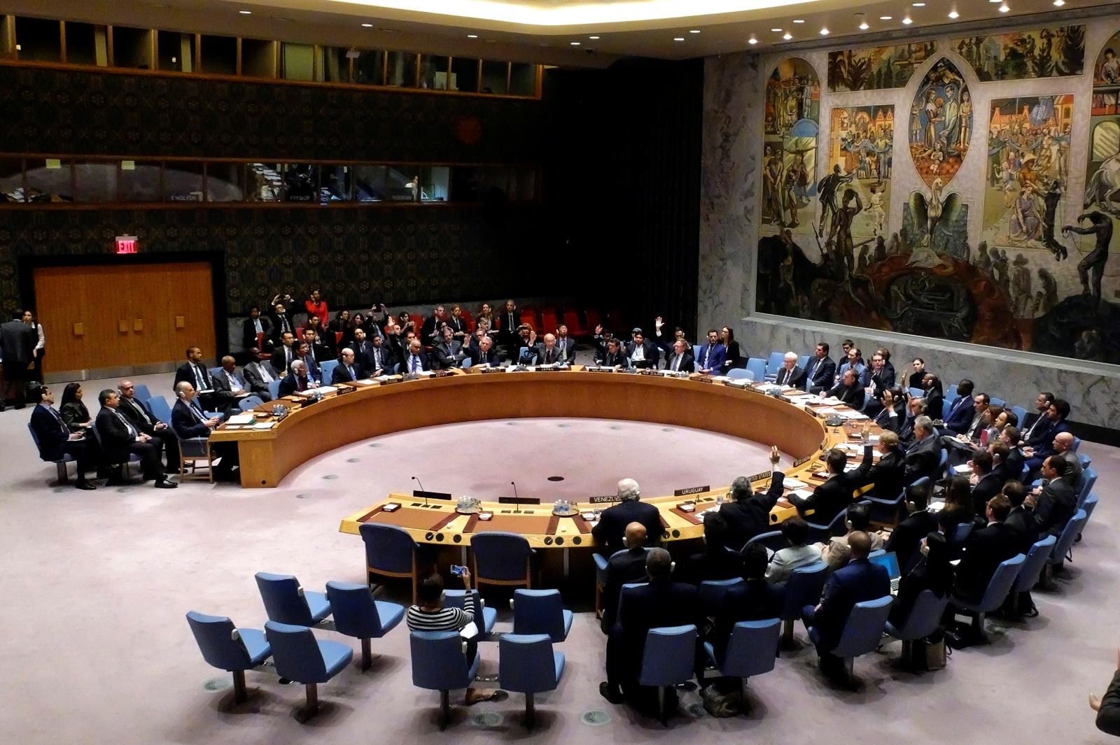 UNSC meeting