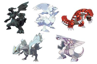 Pokemon Cover Stars
