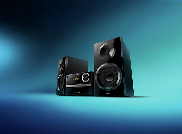 Philips BTB2370 High Power BT DAB Hi Fi
