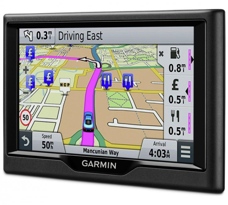 Garmin 58LM 5 Inch SatNav Lifetime Maps Full Europe