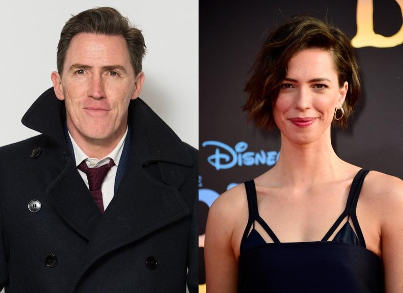 Holmes And Watson Rob Brydon And Rebecca Hall Cast