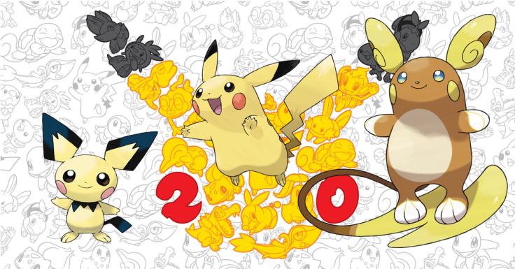 Pokemon Sun Moon Pichu Pikachu Alolan Raichu