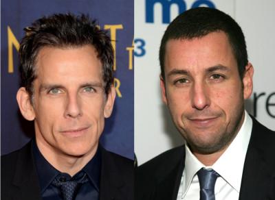 Ben Stiller and Adam Sandler