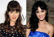 Zooey Deschanel and Katy Perry