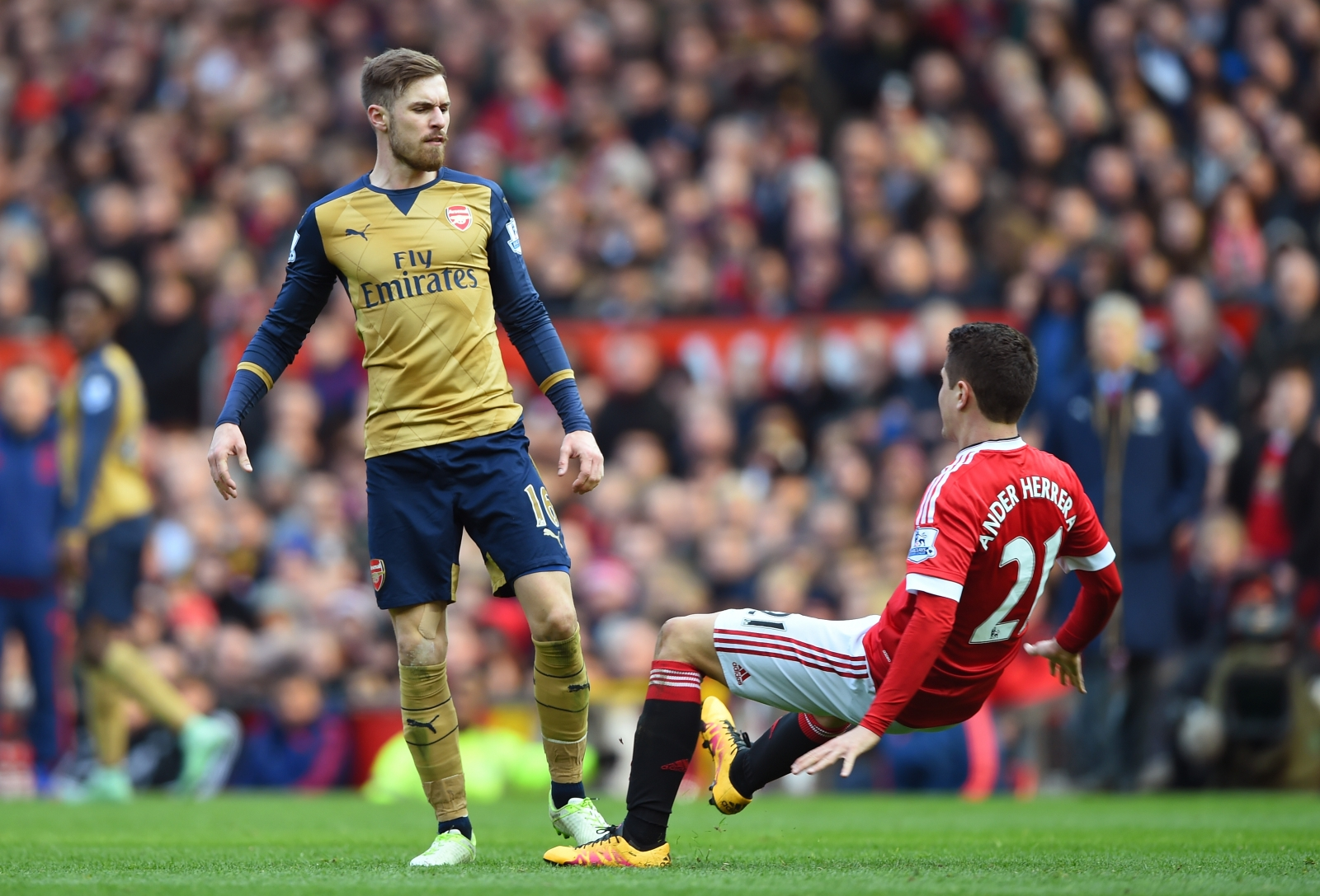 Ramsey: Manchester United Vs Arsenal: Aaron Ramsey Reveals Reason