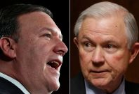 Mike Pompeo, Jeff Sessions