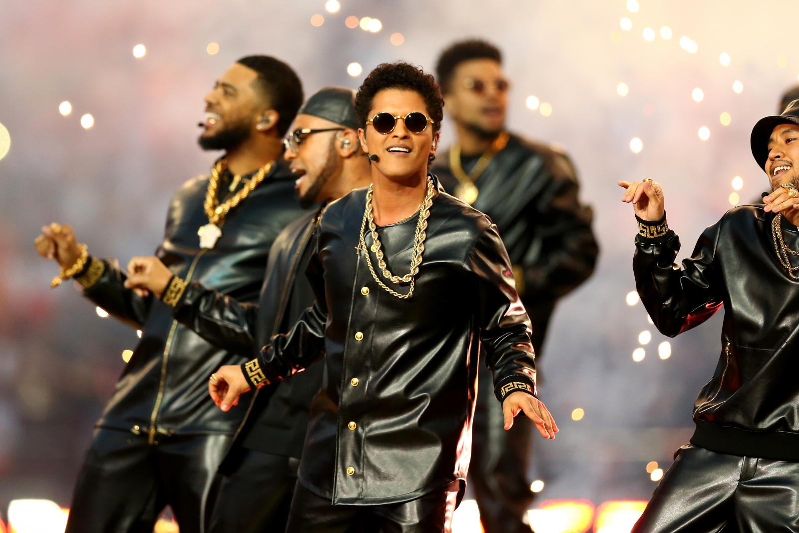 Bruno Mars Wows Houston With Super Bowl Warm-up Show