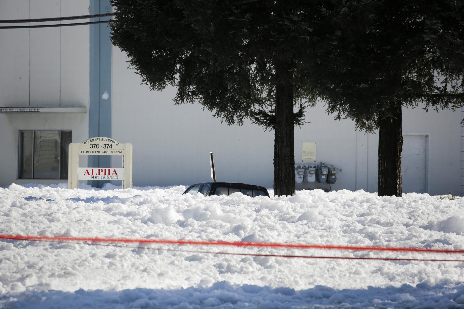 Santa Clara foam blob California