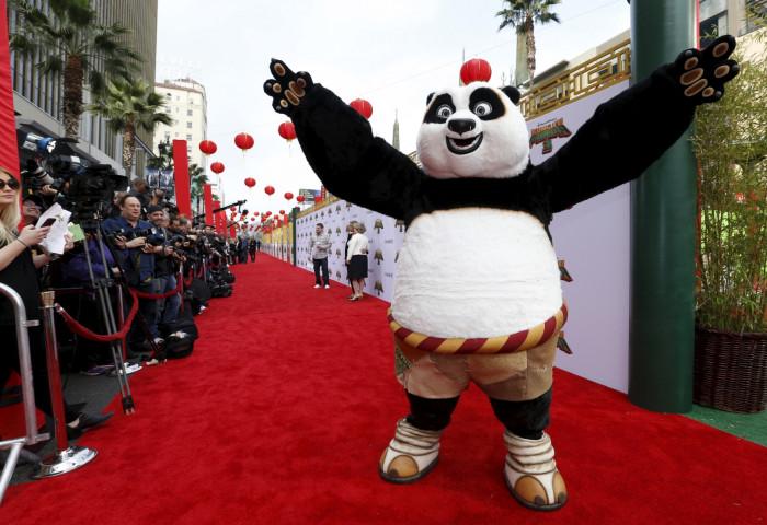 Kung Fu Panda III Hollywood premiere