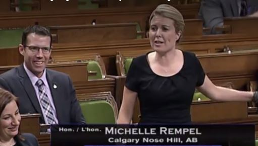 Michelle Rempel's colleagues react