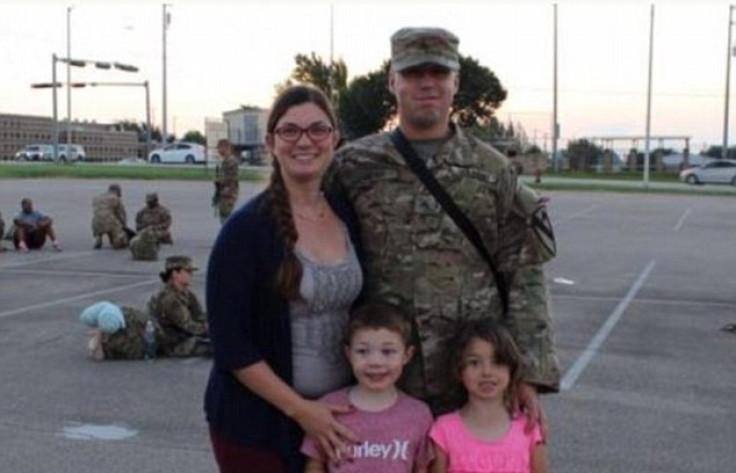 Combat instructor Sgt. John Perry