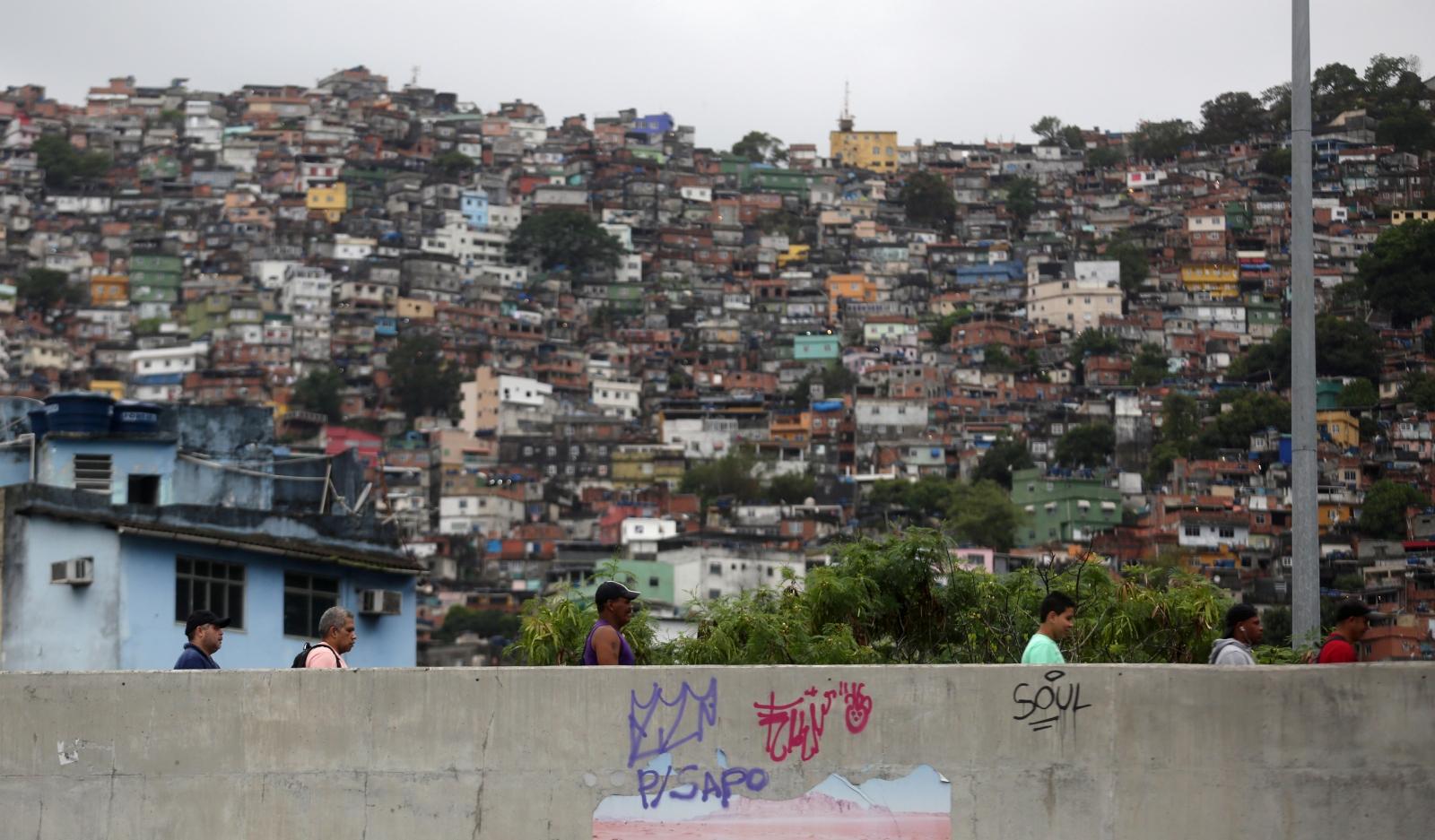 Rio de Janeiro favelas slums