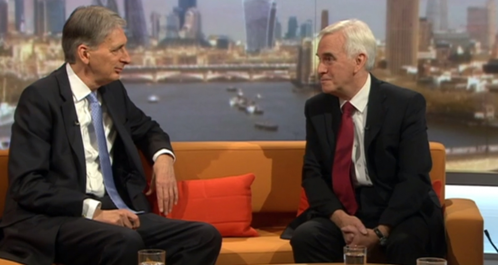 Philip Hammond and John McDonnell