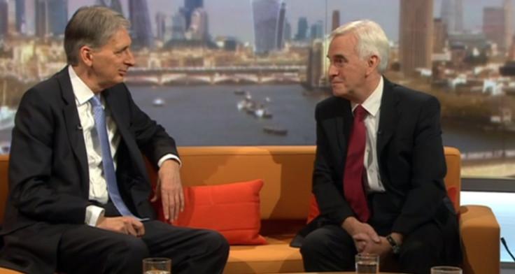Philip Hammond and John McDonnell