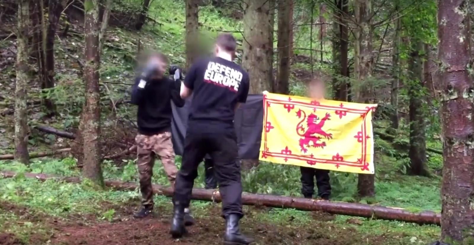 Nazis boxing Scotland
