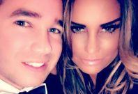 Katie Price with Kieran Hayler