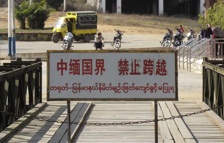 China-Myanmar border