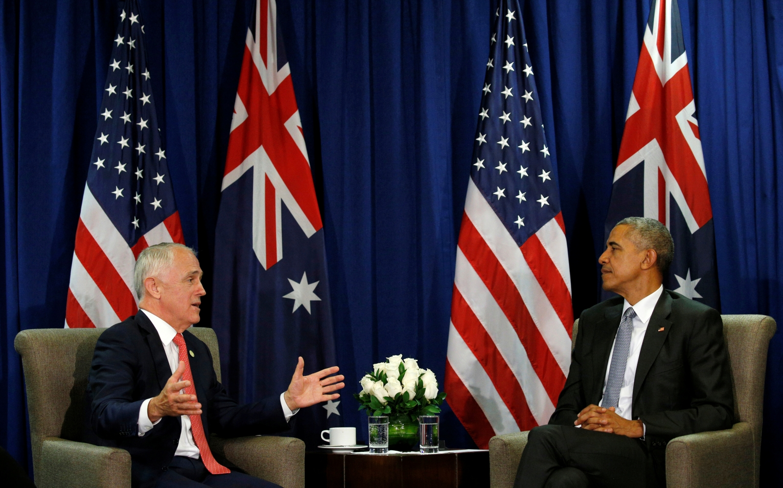 US President Barack Obama and Australian Prime Minister Malcolm Turnbull