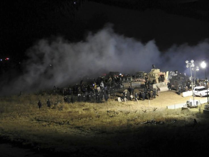 North Dakota Access Pipeline protest