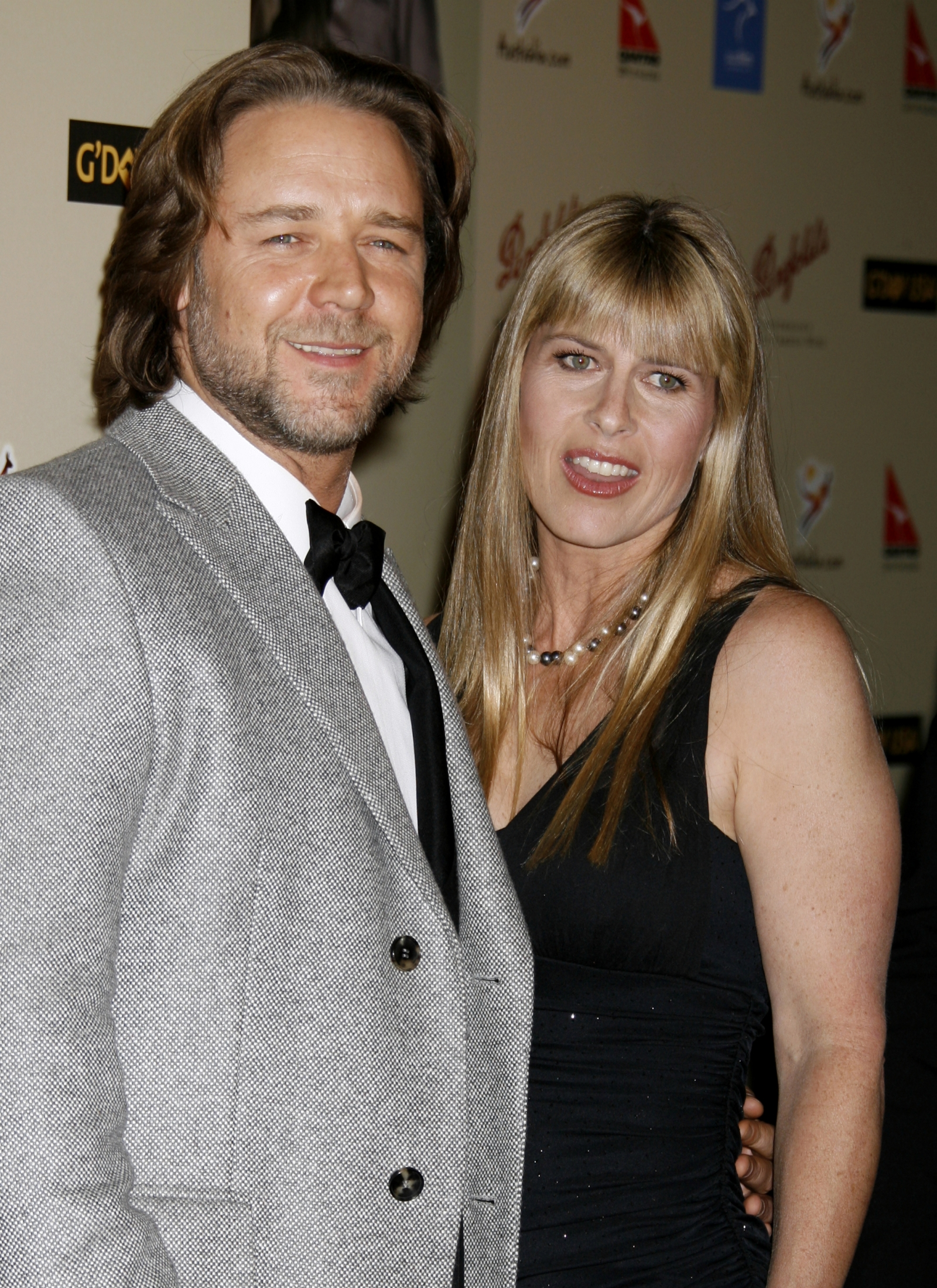 Russell Crowe and Terry Irwin