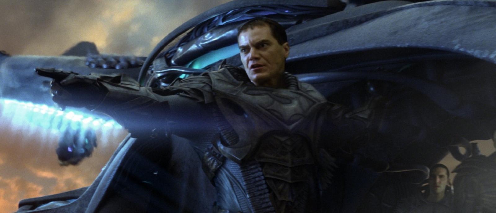 Michael Shannon in Man Of Steel