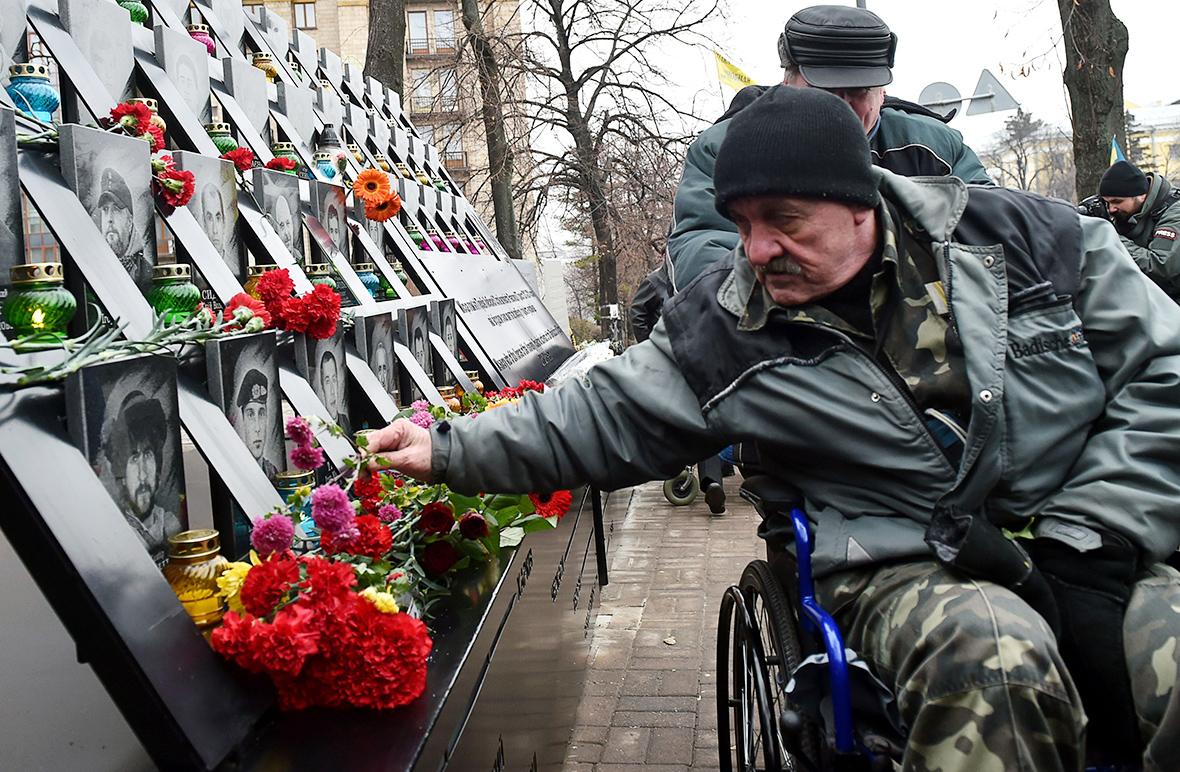 Ukraine Euromaiden anniversary