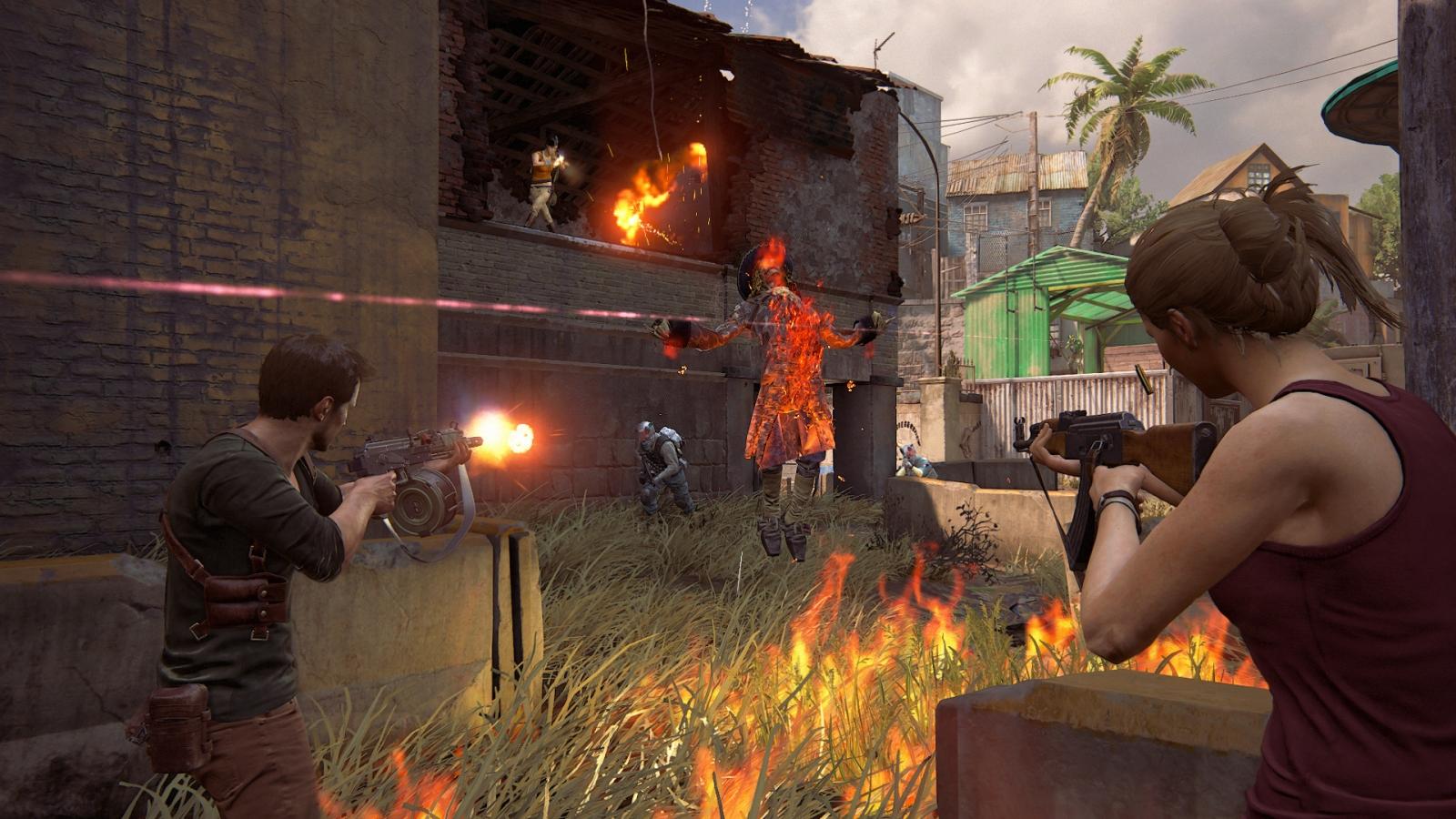 Uncharted 4 survival co-op horde mode