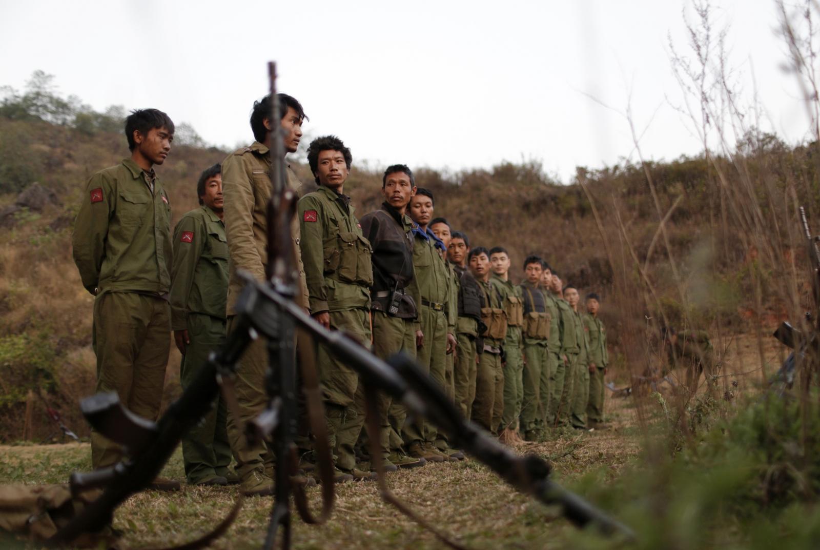 Myanmar rebels