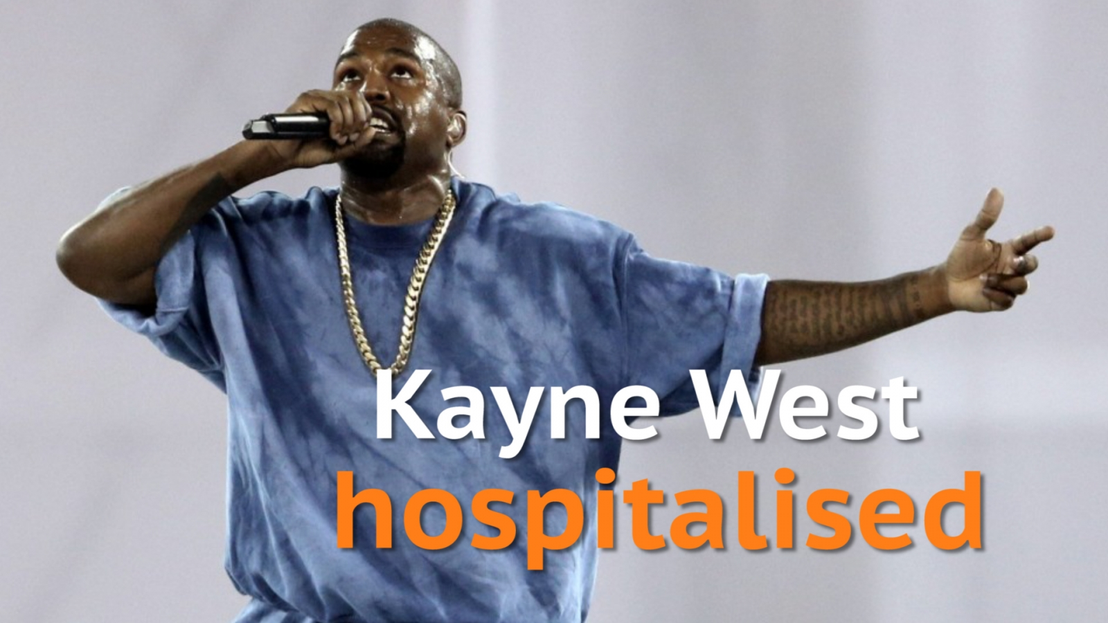 Twitter reacts after Kayne West reportedly hospitalised