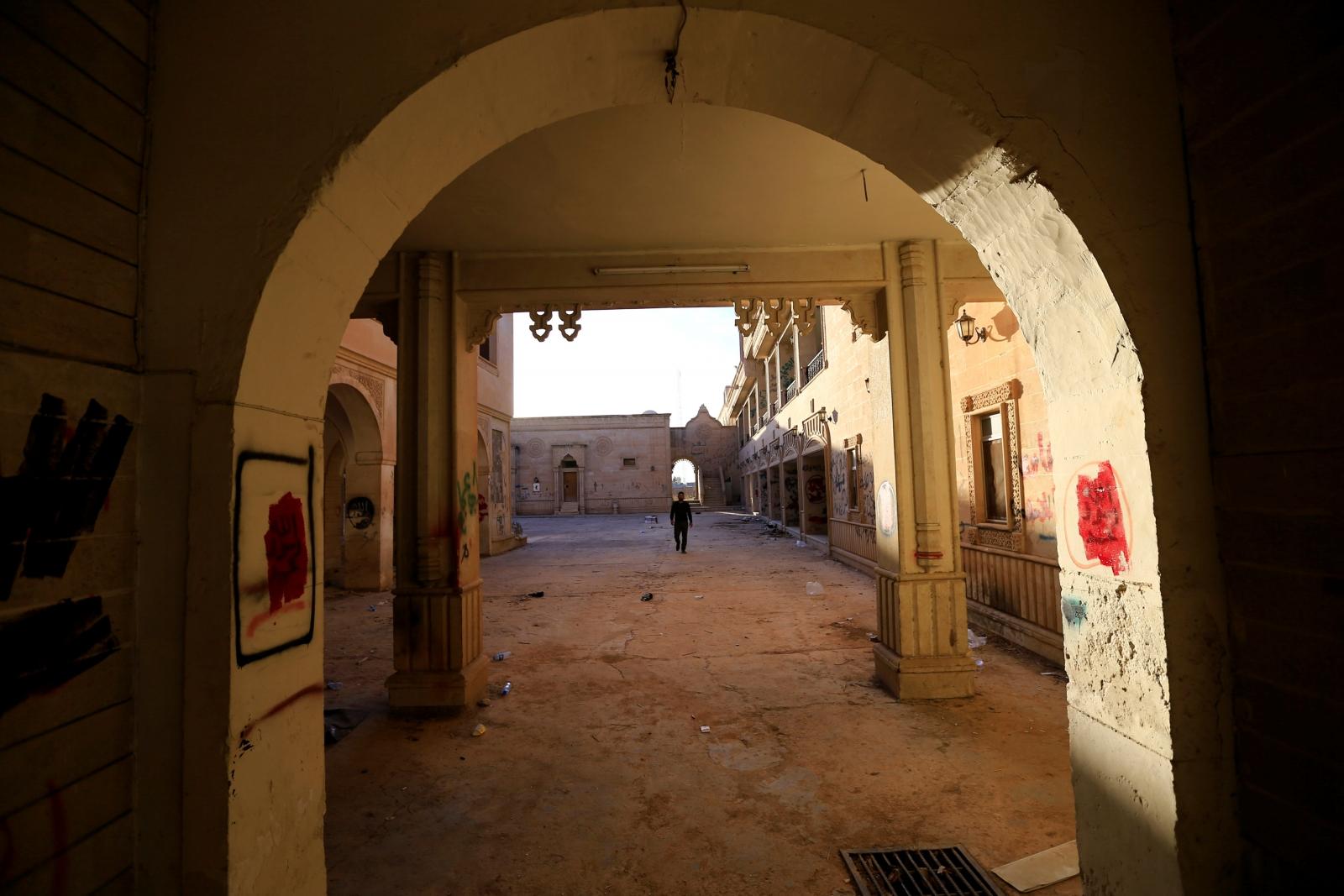 The Mar Behnam monastery