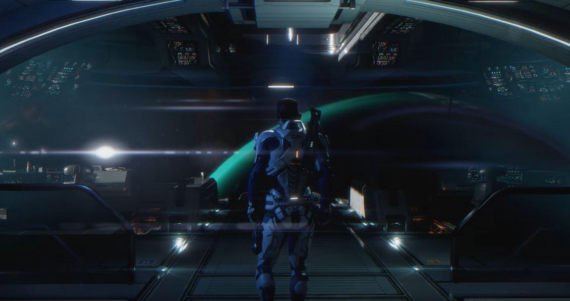 Mass Effect Andromeda Ryder Tempest Bridge