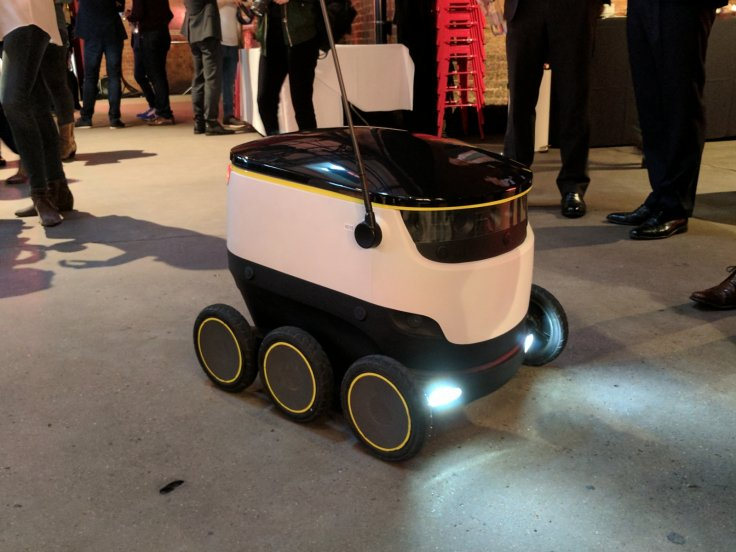 Just Eat's delivery robot