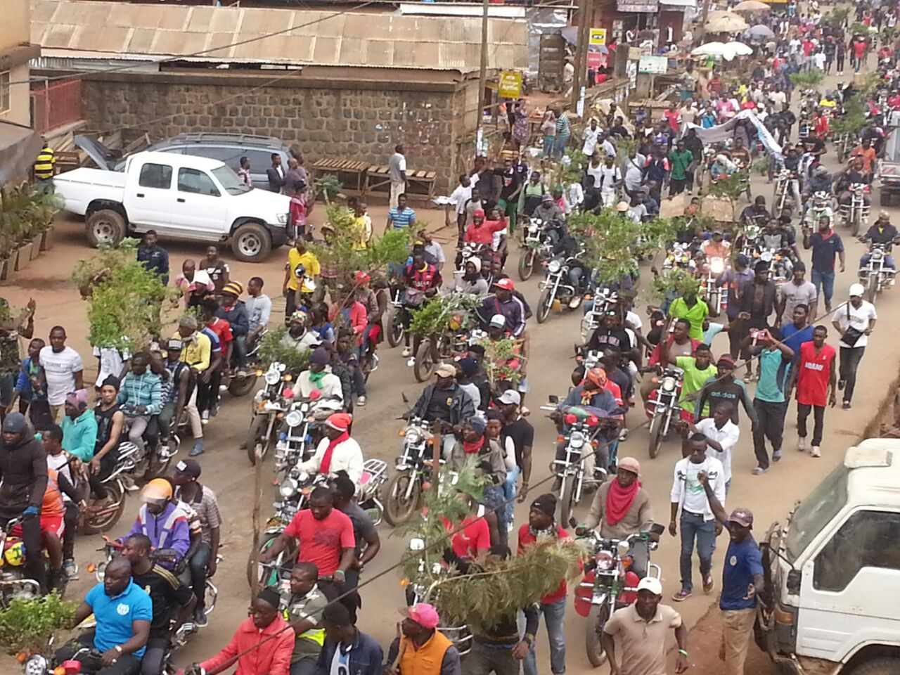 Protests in Bamenda
