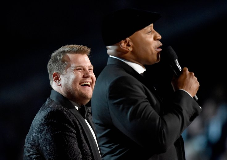 James Corden and LL Cool J