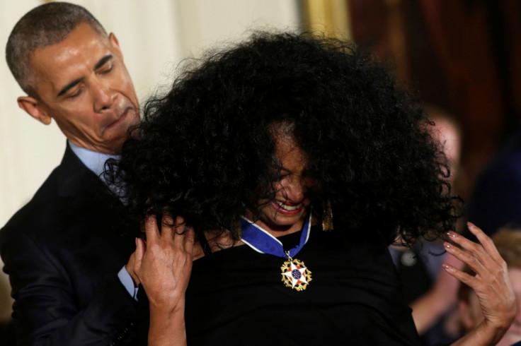 Obama, Diana Ross