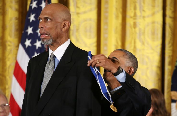 Kareem Abdul-Jabbar, Obama
