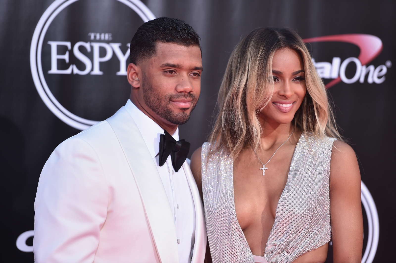 Russell Wilson and wife Ciara