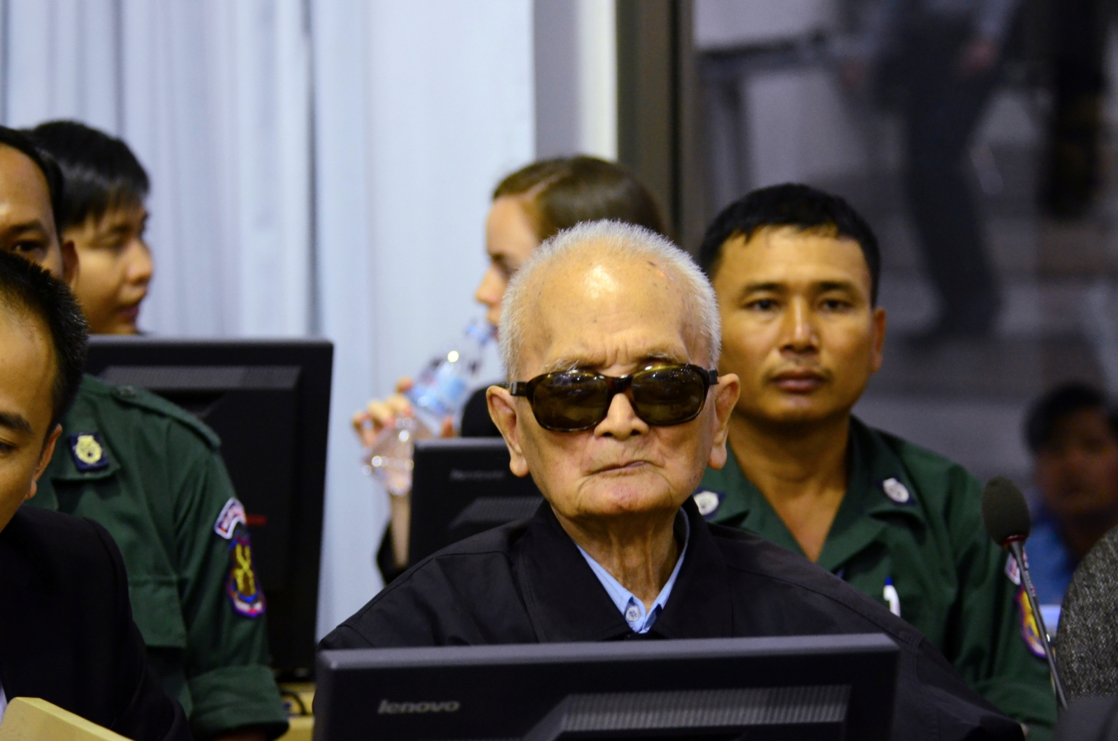 Former Khmer Rouge leader Nuon Chea