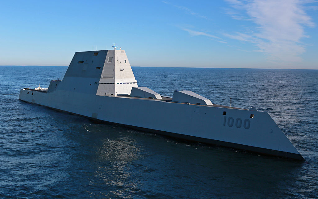 BIW-built Zumwalt breaks down in Panama Canal